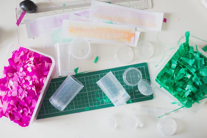 how to make push pop confetti