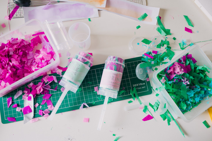 DIY Push Pop Confetti