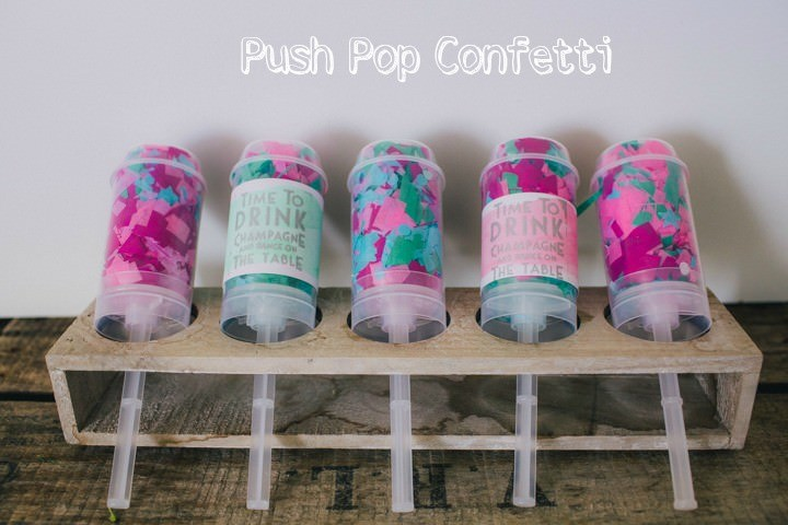 DIY Tutorial - Push Pop Confetti