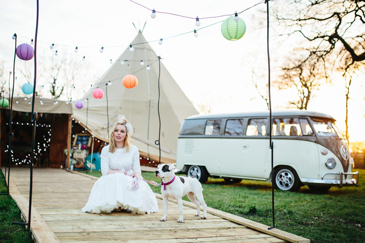 Real Tipi Weddings: Eclectic Boho Tipi Wedding Inspiration From Itsy Bitsy
