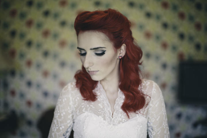 11 Punk-Chic Retro Wedding By Maria Bryzhko