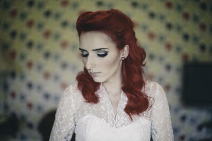 11 Punk-Chic Retro Wedding By Maria Bryzhko