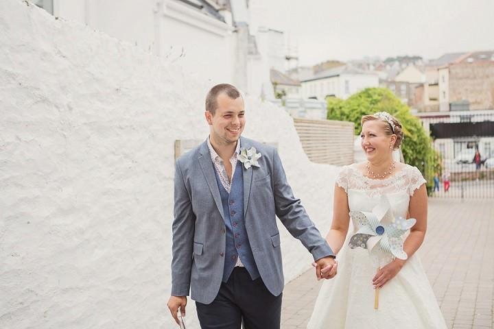 12 Beach Side Devon Wedding. By Cotton Candy
