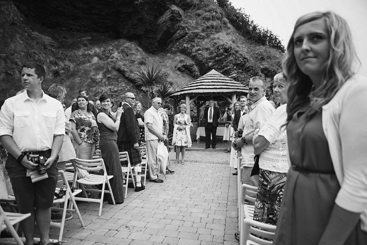 14 Beach Side Devon Wedding. By Cotton Candy