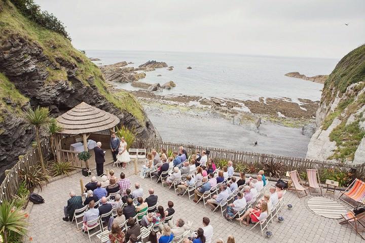 17 Beach Side Devon Wedding. By Cotton Candy