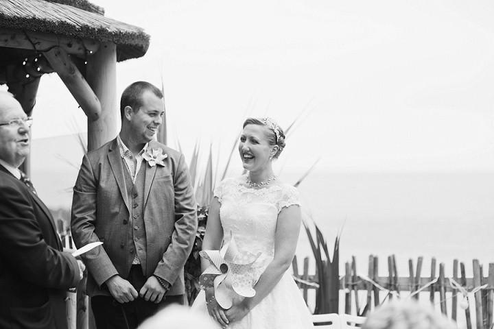 18 Beach Side Devon Wedding. By Cotton Candy