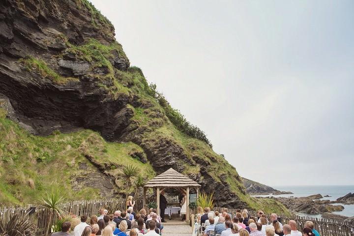 19 Beach Side Devon Wedding. By Cotton Candy