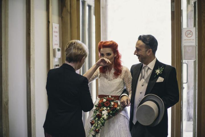 19 Punk-Chic Retro Wedding By Maria Bryzhko