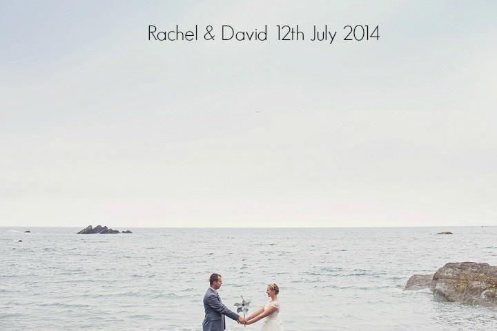 1a Beach Side Devon Wedding. By Cotton Candy