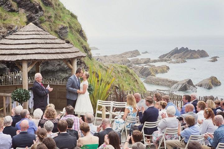 21 Beach Side Devon Wedding. By Cotton Candy