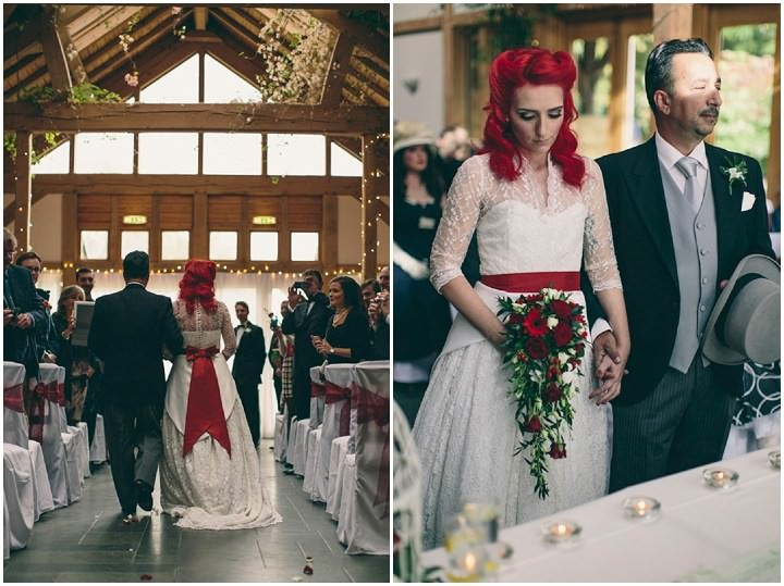 21 Punk-Chic Retro Wedding By Maria Bryzhko