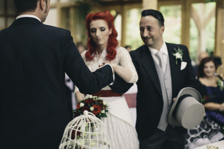 22 Punk-Chic Retro Wedding By Maria Bryzhko