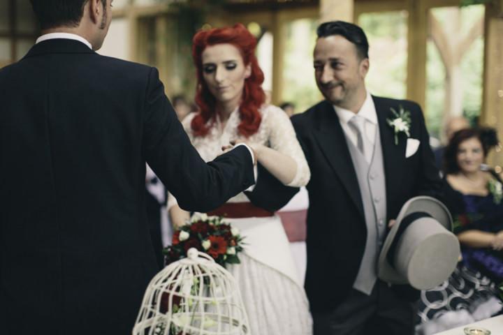 22 Punk-Chic Retro Wedding By Maria Bryzhko