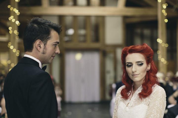 24 Punk-Chic Retro Wedding By Maria Bryzhko