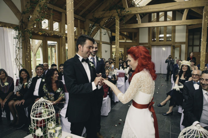 26 Punk-Chic Retro Wedding By Maria Bryzhko