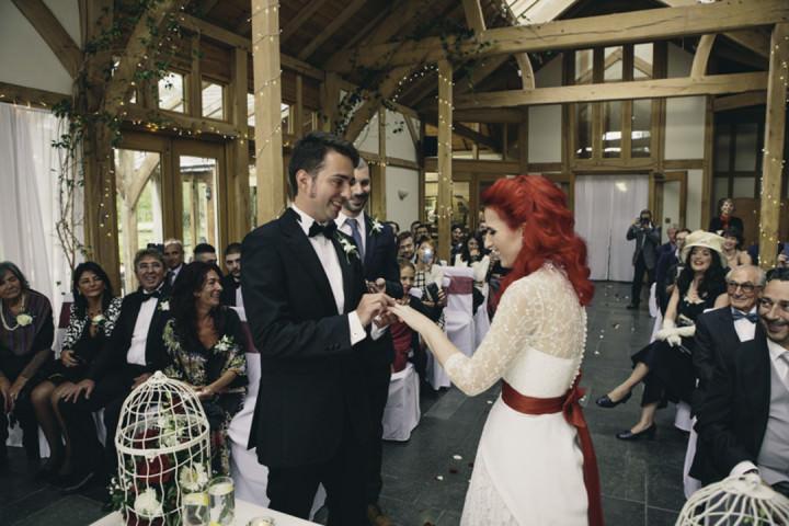26 Punk-Chic Retro Wedding By Maria Bryzhko