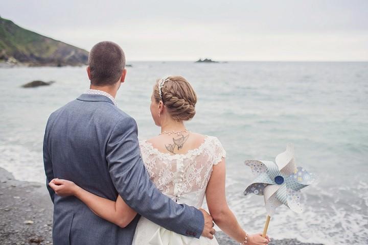 3 Beach Side Devon Wedding. By Cotton Candy