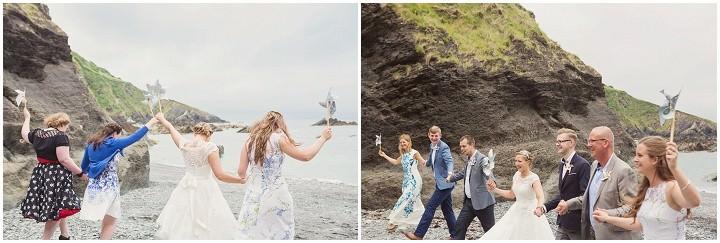 34 Beach Side Devon Wedding. By Cotton Candy