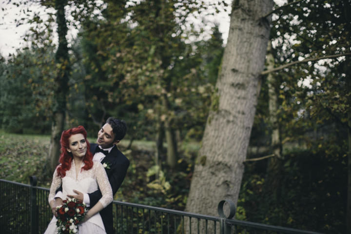 34 Punk-Chic Retro Wedding By Maria Bryzhko
