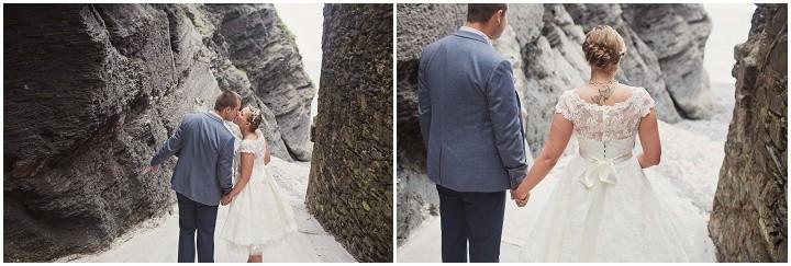 36 Beach Side Devon Wedding. By Cotton Candy