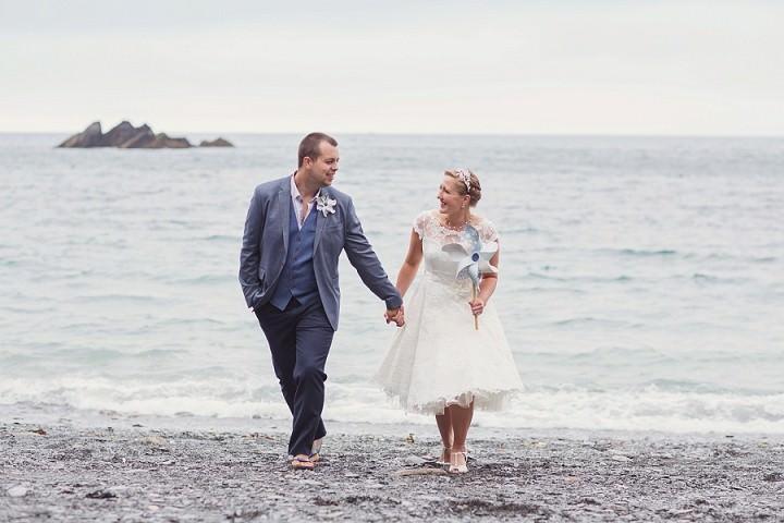 37 Beach Side Devon Wedding. By Cotton Candy