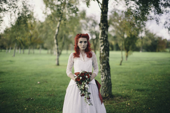 37 Punk-Chic Retro Wedding By Maria Bryzhko