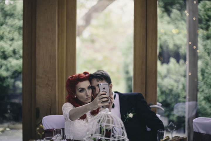 39 Punk-Chic Retro Wedding By Maria Bryzhko