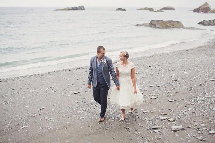 41 Beach Side Devon Wedding. By Cotton Candy