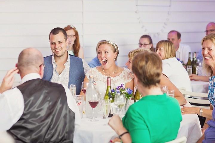 46 Beach Side Devon Wedding. By Cotton Candy