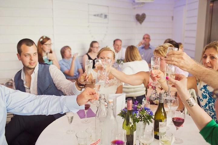 48 Beach Side Devon Wedding. By Cotton Candy