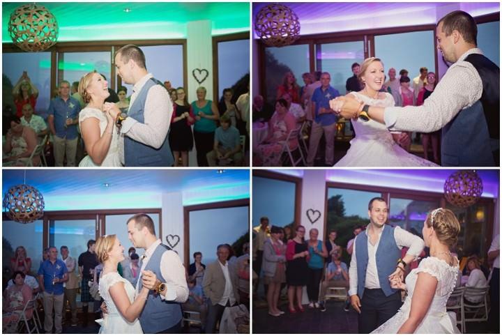 54 Beach Side Devon Wedding. By Cotton Candy