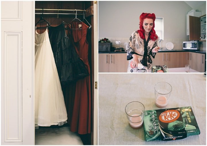 7 Punk-Chic Retro Wedding By Maria Bryzhko