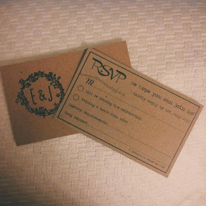Boho Bride Invite