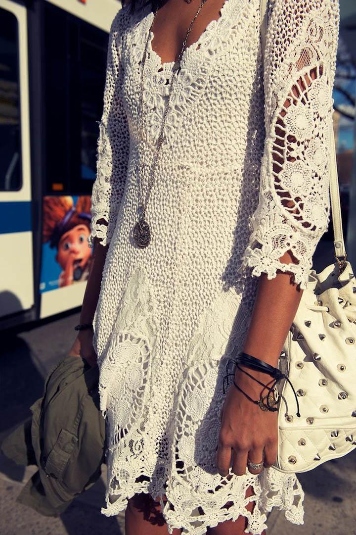 Стили в вязанной одежде