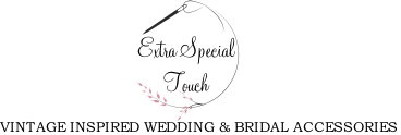 extra special touch vintage inspired wedding and bridal accessories
