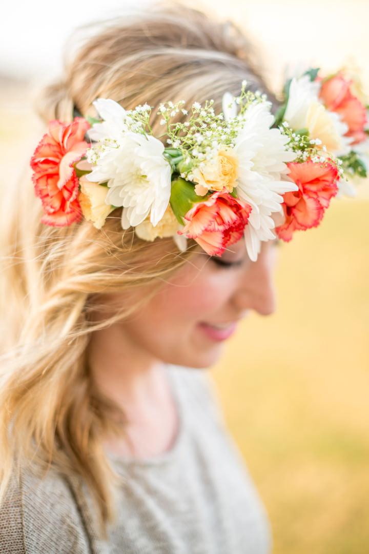 DIY Tutorial - Fabulous Flower Crown