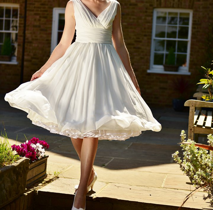 Wedding Dresses For Over 50s Uk: 50s Inspired Made To Order