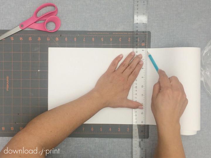 diy tutorial free download for a handkerchief wedding invitation