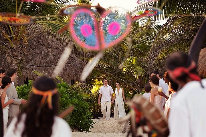 12 Bohemian Beach Wedding in Mexico. By Quetzal Photo