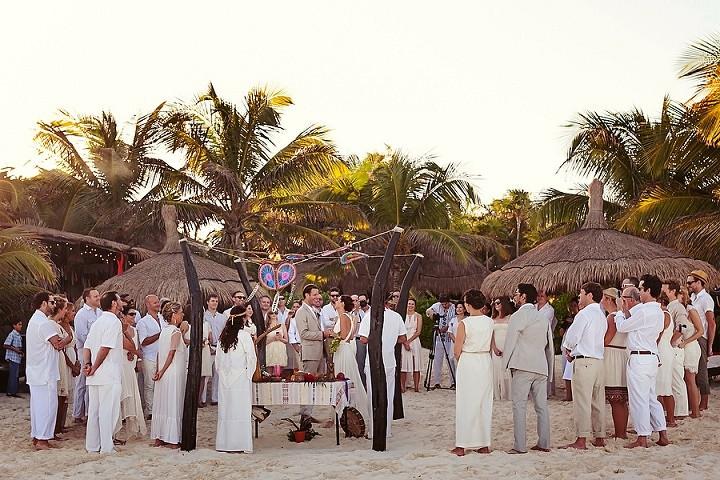 13 Bohemian Beach Wedding in Mexico. By Quetzal Photo