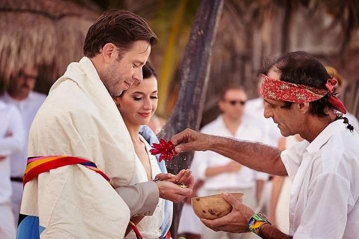 16 Bohemian Beach Wedding in Mexico. By Quetzal Photo