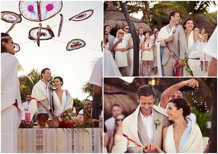 17 Bohemian Beach Wedding in Mexico. By Quetzal Photo