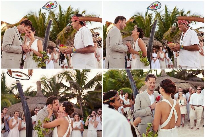19 Bohemian Beach Wedding in Mexico. By Quetzal Photo