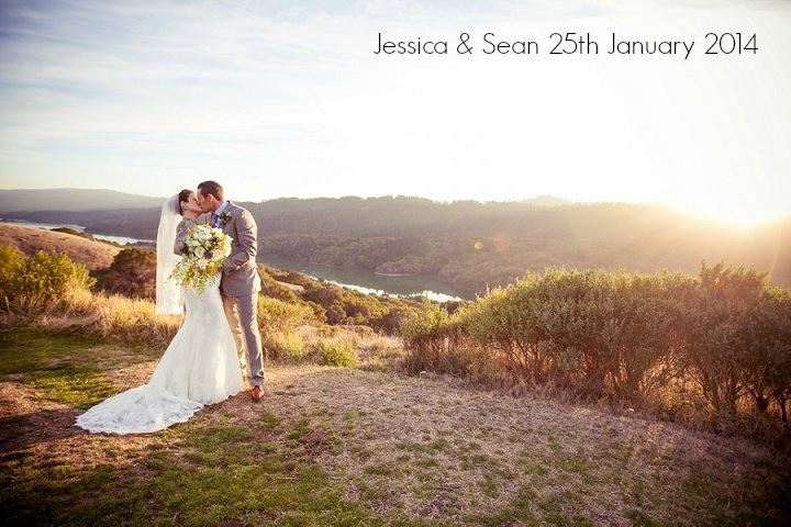 Jessica and Sean's Wildlife Loving, Turquoise and Coral Tattooed Wedding. By A Perfect Impression