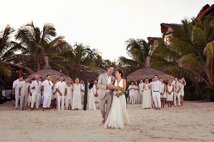 20 Bohemian Beach Wedding in Mexico. By Quetzal Photo