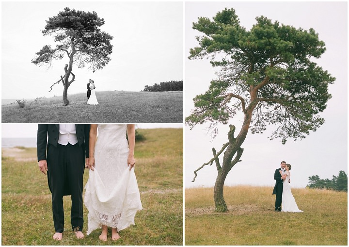 21 Barefoot, Swedish Wedding. By Loke Roos
