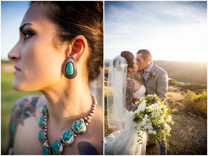 22 Turquoise and Coral Tattooed Wedding By A Perfect Impression