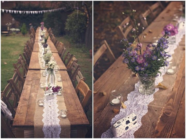 3 Backyard Wedding. By Benni Carol Photography.