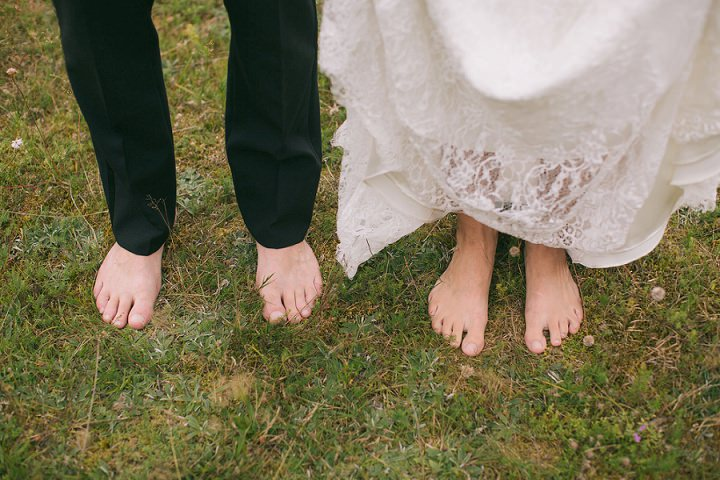 3 Barefoot, Swedish Wedding. By Loke Roos