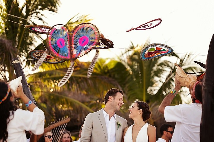3 Bohemian Beach Wedding in Mexico. By Quetzal Photo